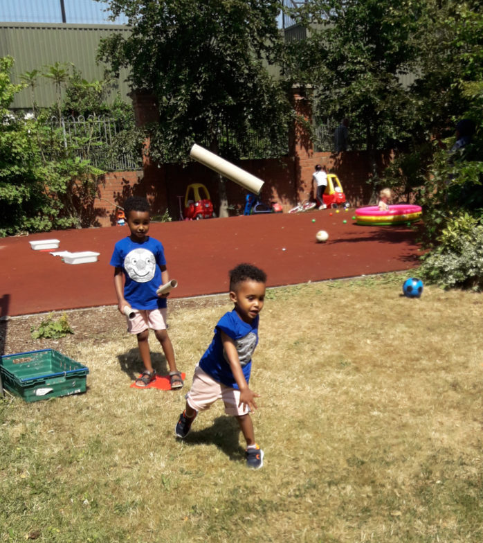 Simon Community Ensures No Child Left Behind Through New Play Learning Service Young Boys Playing Homemade Activity