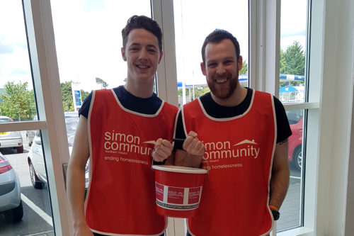 There are lots of different ways you can fundraise for Simon Community NI