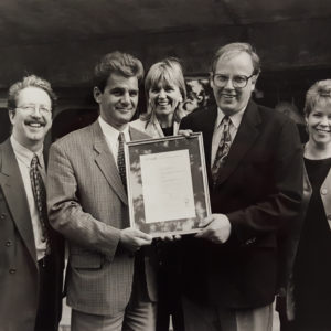 Quality Standard Award - 1996