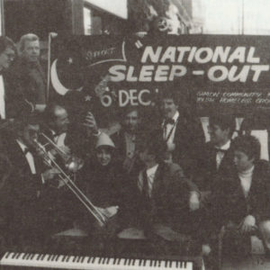 National Sleep Out - 1992