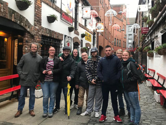 Clients From Simon Communitys Derry Project Visit Belfast As Part Of Health Wellbeing Initiative