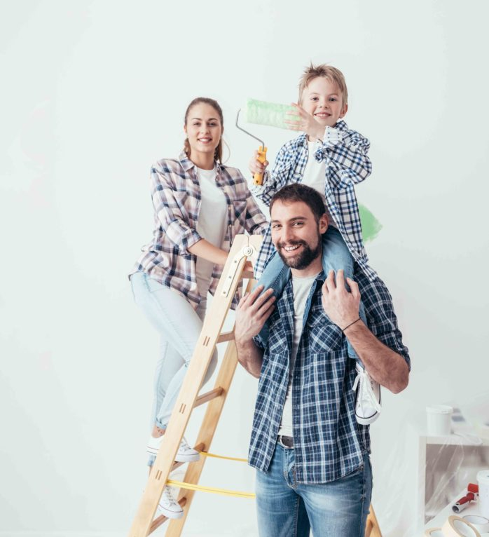 Family Painting Home Web Image