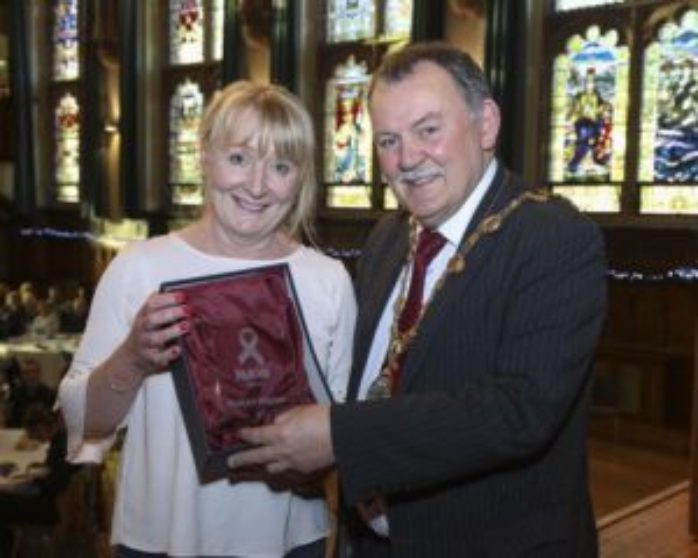 Geraldine Getting Council For Homeless Award