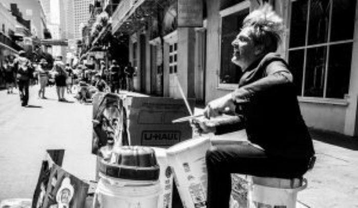 Mario Goossens Street Performance In New Orleans  Photo Credit Sofie Hendrickx 300X174