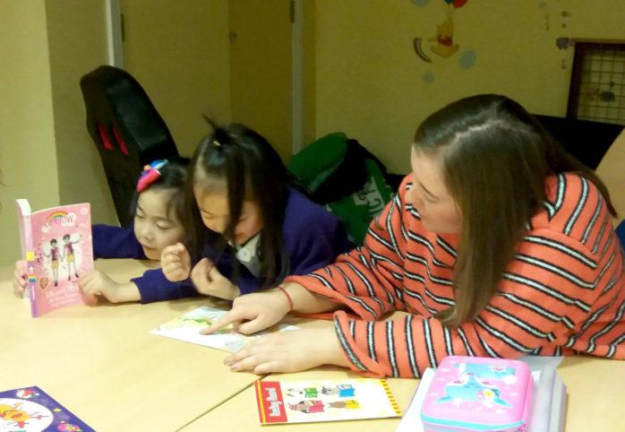 Volunteer Eilis At Conway Court Homework Club 1