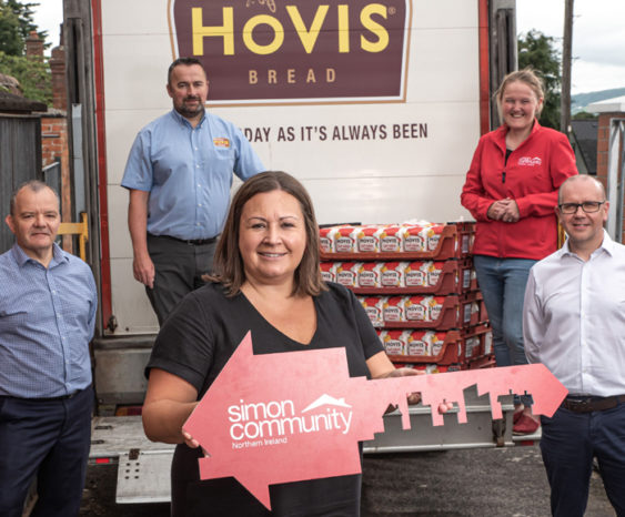Hovis® Ireland Partners With The Simon Community In Belfast Donating Bread To Belfast Projects